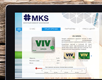 Website for MKS dairy company