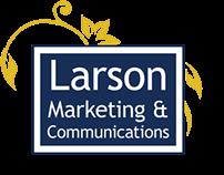 Logo & Business Card for Larson Marketing & Comm