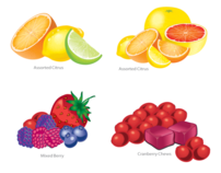 Various Flavor Illustrations