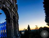 Pula, Croatia 2013: Includes architecture pictures