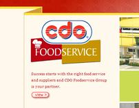 CDO Food Service website