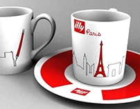 ILLY COFFEE DESIGNS (3DS Max)