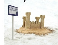 """Sand Castle""/Non-Traditional/Snowrider"