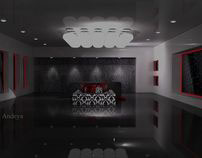 Interior Design-3D+Vray and Rendering_Boutique  Design