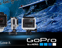 Marketing banners for GoPro Inc. (Experimental)