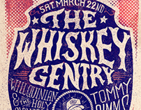 The Whiskey Gentry - Concert Poster 3