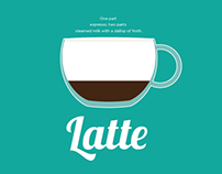 Flat Coffee | Vector Illustration