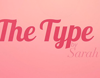 The type by Sarah Kay