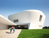 Architectural rendering of the CSS museum