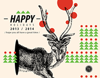 - happy holidays / 2014