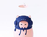 Cute kitty hand warmer series-潮小萌暖手宝系列