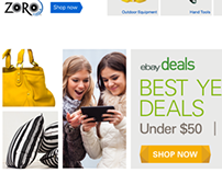 Marketing - Creative Visual Design for eBay. (Banners)