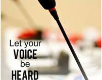 Lets Ypur voice be HEARED (COPY)