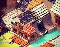 Isometric Town