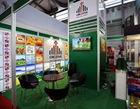 Design of exhibition stand at FHC China 2013