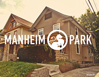 Manheim Park - neighborhood rebrand