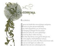 """John Donne """"La Corona"""""""