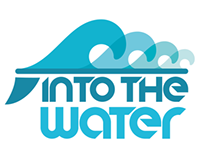 Logotipo y merchandesign INTO THE WATER