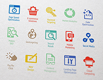 SEO & Internet Marketing Icons