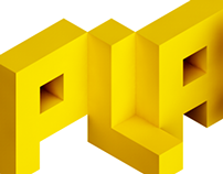 Playable logotype