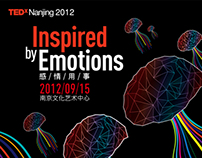 "TEDxNanjing 2012 ""Inspired by Emotions"" branding"