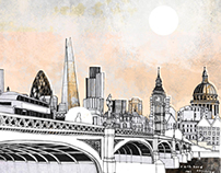 The Serco Prize for Illustration 2014 – London Stories