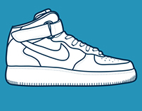 #13 Nike Airforce One