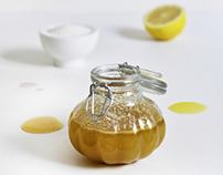 DIY Lemon & Lavender Scrub | Photogaphy & Design