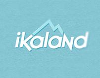 iKaland website and logo design