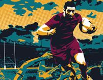 Aaron Lewis Rugby 10s 2014