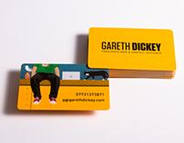 Designed by Gareth Dickey