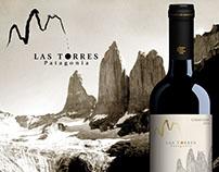 Etiqueta de vino Las Torres Patagonia