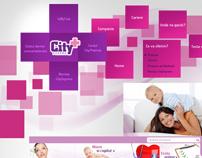 Website design: City Pharma