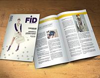 Diseño de Revista de fotografía