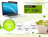 Webdesign: Cosmote 3G