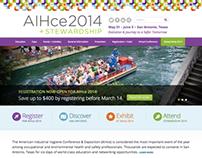 AIHce 2014 Website