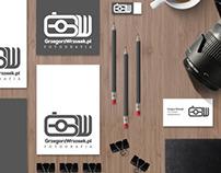 Branding for photographer Grzegorz Wrzosek