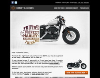 Harley-Davidson Trade-Up Email
