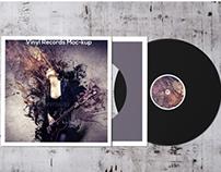 Vinyl Rcords Mockup