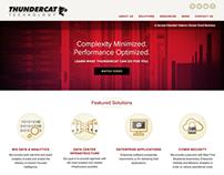 Thundercat Technology Website Redesign