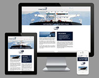 Mas Marine | Responsive Single Page Web Design