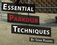 Essential Parkour Techniques E-book