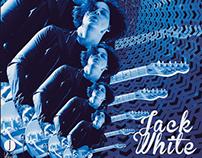 Dieciséis Saltinas - Jack White poster
