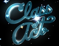 Class Act Label, 3D Logo Animation