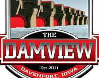 The Damview Bar logo