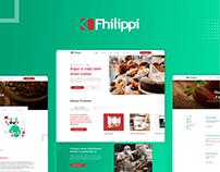Website Redesign - Fhilippi Alimentos