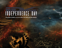 Independence Day DVD Label Project