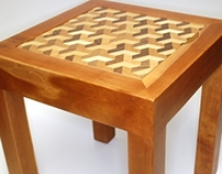 Illusion side table