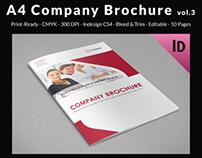 A4 Company Brochure vol.3