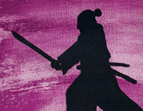 Samurai - Canvas Painting